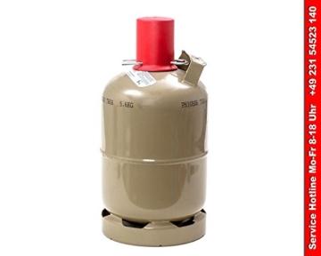 Gasflasche 5 kg